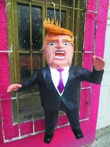 Mexicanos ya pueden 'agarrar a palos' a Trump