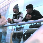 Geo Rivera, Mario Rodríguez, Víctor Rodríguez tres participantes del                       video viral.