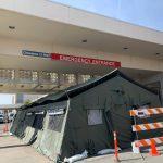 Foto por Luz Bazán Gutiérrez/La Voz La clínica de evaluación y los servicios de carpa ampliados deberían proporcionar un amortiguador a medida que la ciudad de Yakima se prepara para más casos del virus respiratorio.