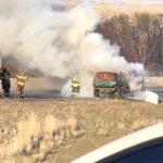 Foto por Agencias SUV se Incendió 30 minutos después de su compra con cheque de estímulo en Yakima.
