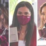 Foto por Agencias Las candidatas de Morena Marina del Pilar, Indira Vizcaíno y Lorena Cuéllar serán las próximas gobernadoras de Baja California, Colima y Tlaxcala.